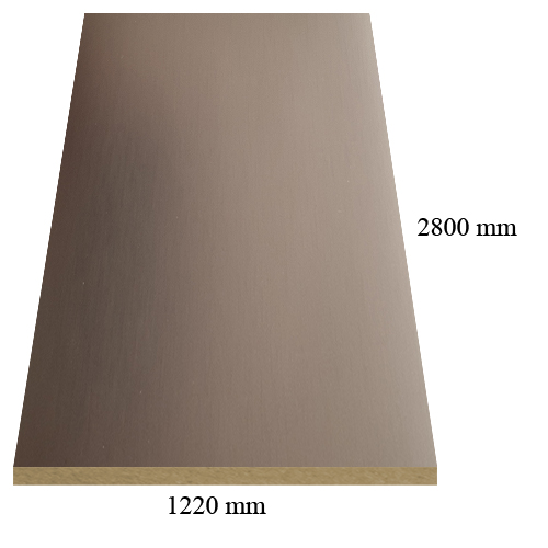 1992 Bronze - PVC coated 18 mm MDF