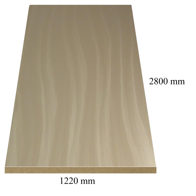 4 -- 6185 Капучино перлени вълни - 18 мм плоча мдф гланц