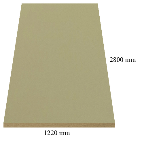 303 Velvet dakar - super matte - PVC coated 18 mm MDF