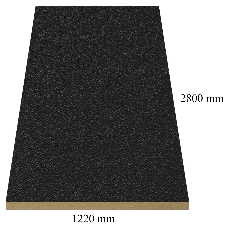 3 – 1290 Черна перла (сдф) - 18 мм плоча мдф гланц