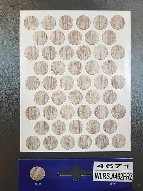 462-4671 Self adhesive covers ø14 mm – Oak Monte Velino /42199