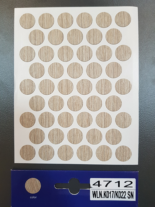 4712 Blonde liberty elm – Self adhesive covers ø14 mm