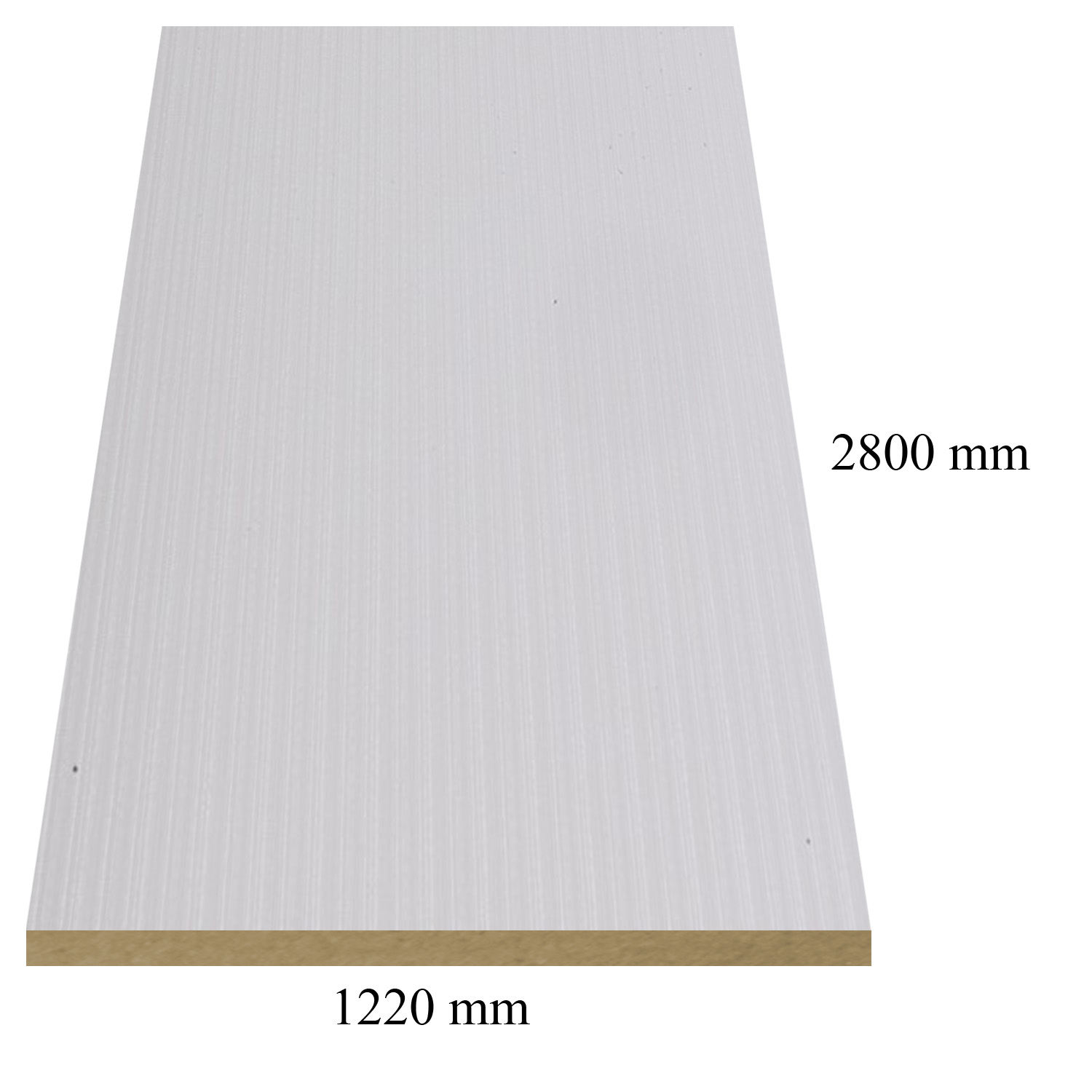 717 Powder high gloss - PVC coated 18 mm MDF