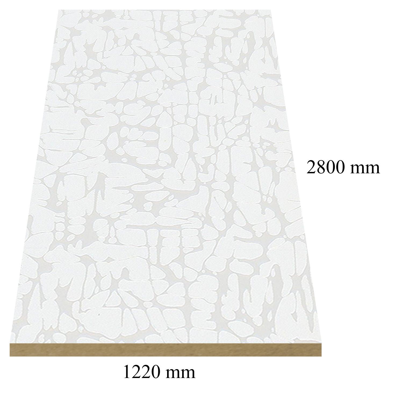 4 – 6107 Бяла структура - 18 мм плоча мдф
