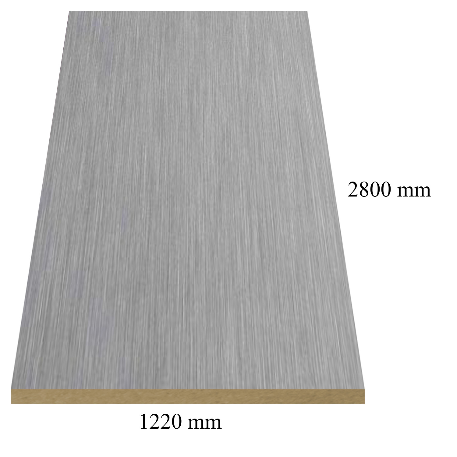 6170 Inox - PVC coated 18 mm MDF