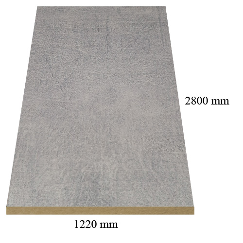 7088 Stone Beige matte - PVC coated 18 mm MDF