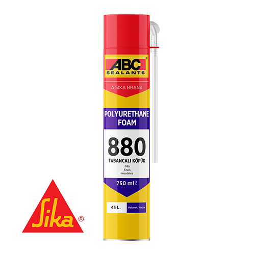 ABC 880 Professional Polyurethane Foam (gun) 750ml
