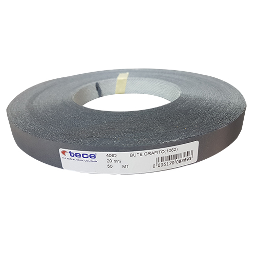 "21mm pre–glued Melamine edge band 1062 Anthracite ""Tece"""