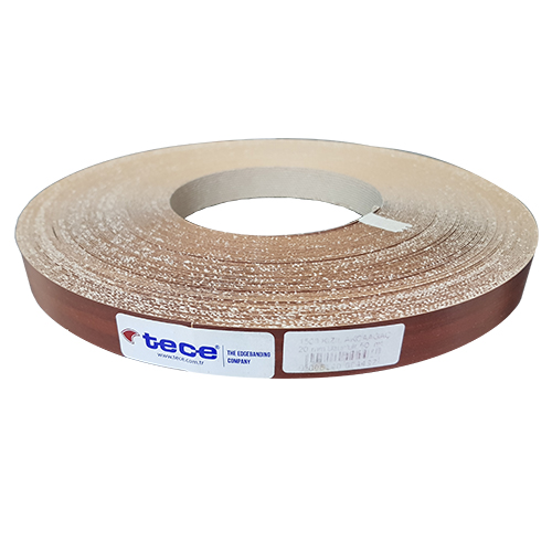 21mm pre–glued Melamine edge band 1508 Redwood Tece