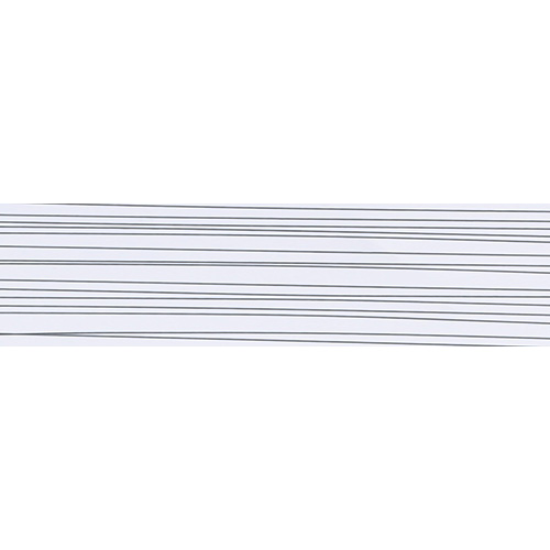 6005 HG Stripe White 22х0.8 mm – HG edge band