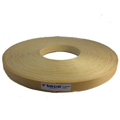 Pre-glued veneer edge band Pine 22mm - Tece K06