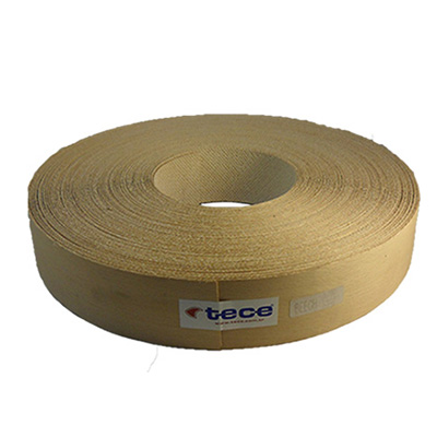Pre-glued veneer edge band Beech 50mm - Tece K01