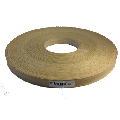 Fleece backed veneer edge band Oak 22mm - Tece K03