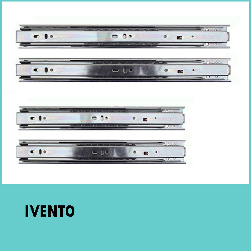 350mm H35 Ball bearing slides full extension – IVENTO