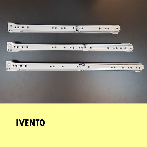 550mm Roller drawer slides – IVENTO