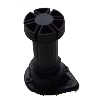 Furniture PVC kitchen leg - Black (300pc/box)