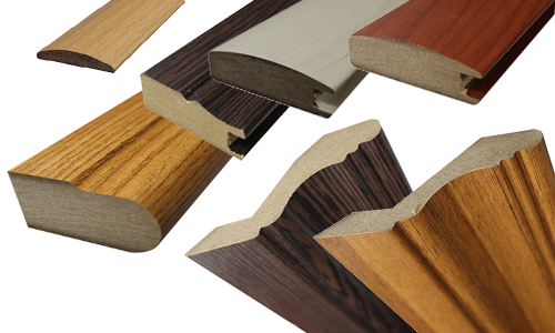 Wooden color MDF profıles