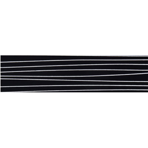 "HG. 6006 Stripe Black 22х0.8 mm – HG edge band ""Tece"""