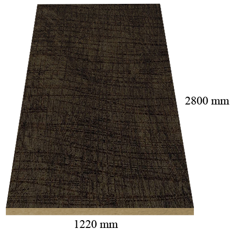Y80 Lino Maya matte - PVC coated 18 mm MDF
